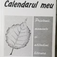 RADU GYR CALENDARUL MEU PRIETENII MOMENTE SI ATITUDINI LITERARE 1996 LEGIONAR