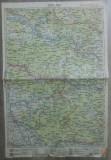 Lugoj// harta lito 1927, M. D. Moldoveanu