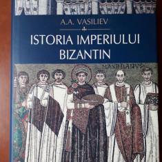 ISTORIA IMPERIULUI BIZANTIN - A.A.VASILIEV, Polirom 2010