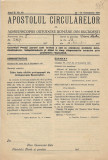 Apostolul circularelor nr 40, 1937 Arhiepiscopia Ortodoxa Romana