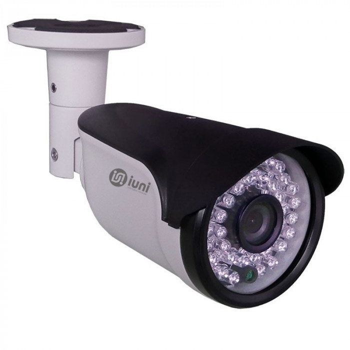 Camera supraveghere IP iUni ProveCam AHD 7108E, lentila 3.6 mm, 2 MP, 36 led IR