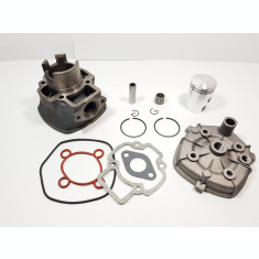 Kit Cilindru Set Motor + Chiuloasa Scuter Derbi GP 49cc 50cc 5 colturi