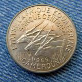 2r - 10 Francs 1965 Camerun / primul an de batere / Cameroun, Africa