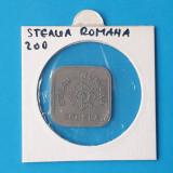 Moneda - Jeton vechi perioada regala 1930 STEAUA ROMANA SCHELA valoare 200 Lei