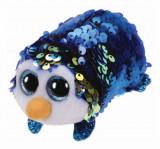 Cumpara ieftin Payton pinguin albastru cu paiete - plus Ty, 10 cm, Teeny Tys
