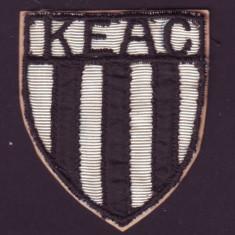 1918 Emblema brodata KEAC Clubul Universitar Atletic Cluj, predecesor U Cluj