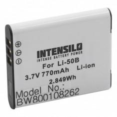 Intensilo baterie pentru olympus cum ar fi li-50b u.a. 770mAh
