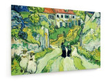 Cumpara ieftin Tablou pe panza (canvas) - Vincent Van Gogh - Stairway at Auvers - Ptg.-1890...