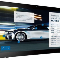 Monitor LED Philips 23.6inch 24BDL4151T/00, Full HD (1920 x 1080), Boxe, Touchscreen, WiFi, HDMI (Negru)