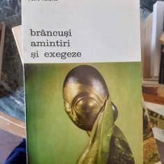 Brancusi amintiri si exegeze – Petre Pandrea