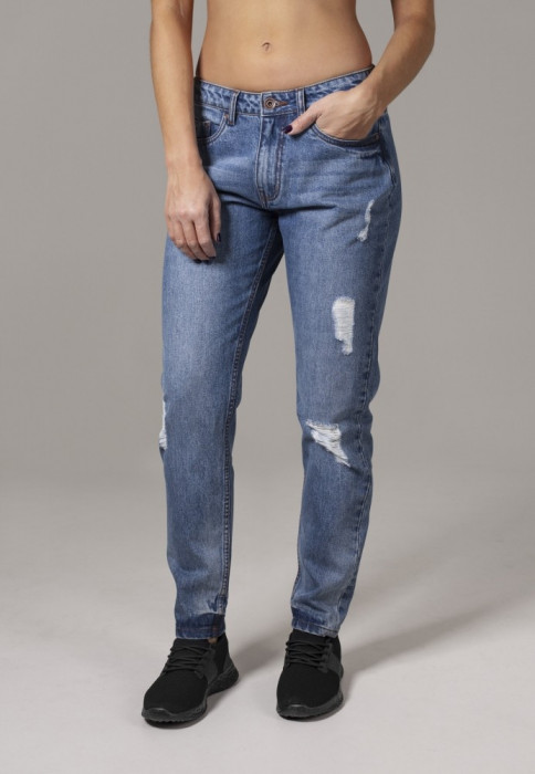 Ladies Boyfriend Denim Pants Urban Classics 28 EU