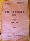 Carte    religie  Rezumat  al Istoriei   bisericii  Ed. 1928, 1972