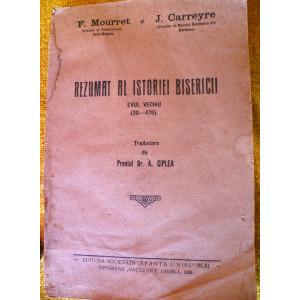 Carte    religie  Rezumat  al Istoriei   bisericii  Ed. 1928