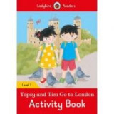 Topsy and Tim: Go to London Activity Book