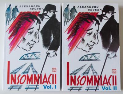 Alexandru Sever - Insomniacii (2 vol.) (Hasefer, 2000) foto