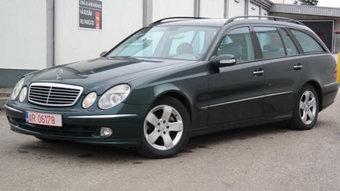Mercedes E220 Avantgarde, 2.2 CDI Diesel, an 2004