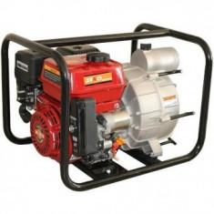 Motopompa pentru apa murdata 7.5 CP, Senci SCWT-80E, demaraj electric