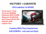 Cel mai performant GPS 7 inch iGO Primo harti 2020 TIR/Camion/Autoturism EU+RO, Toata Europa, Lifetime, LodeStar