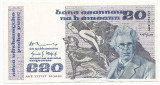 Irlanda 20 Pounds / Punt 28.10.1981 - S: Murray & O'Cofaigh, 171757,  P-73