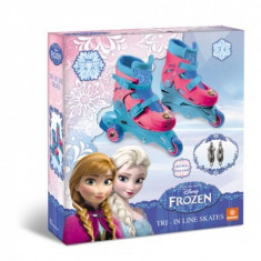 Role copii Mondo Frozen 3 roti ajustabile