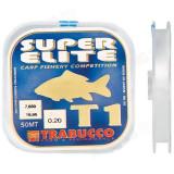 Fir Monofilament Super Elite Carp T1, 50m Trabucco (Diametru fir: 0.18 mm)
