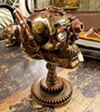 Statueta Decorativa Craniu 18X12X24 Cm
