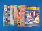 LOT 7 REVISTE ''FRANCMASONERIA'' : NR. 1 , 2 , 3 , 4 , 5 , 8 , 12