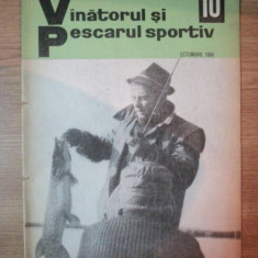 REVISTA ''VANATORUL SI PESCARUL SPORTIV'', NR. 10 OCTOMBRIE 1968