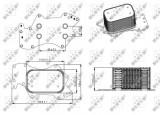 Termoflot radiator ulei (automatic manual) AUDI A4, A4 ALLROAD, A5, A6, A6 ALLROAD, Q5, Q7; VW PHAETON, TOUAREG 2.7D 3.0D intre 2004-2018