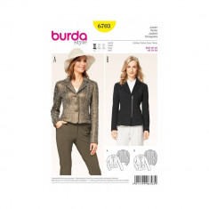 Tipar sacou Burda Style 6703