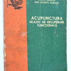 Acupunctura mijloc de recuperare functionala - 1978