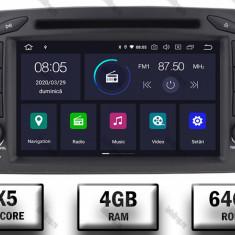 Navigatie Mercedes Benz C Class W203 Vito Viano CLK Android 9 Octacore PX5 4GB RAM + 64GB ROM 7 Inch AD BGWMBCC7P5