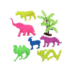 Animale salbatice care cresc - Set 6