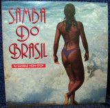 Vinil Various – Samba Do Brasil (34 Sambas Non-Stop) (VG+)