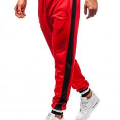 Pantaloni de trening bărbați roșu Bolf 99010