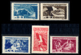 1947 LP224 serie Apararea patriotica MNH, Nestampilat