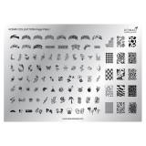 Matrita pentru unghii Konad Collection Image Plate 01