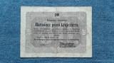 30 Pengo 1849 Ungaria / Harmincz Pengo Krajczarra / bancnota lipita