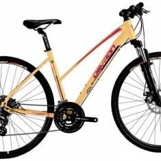 Bicicleta Dama Devron Urbio LK2.8 L 520mm Mandarin Dream 28