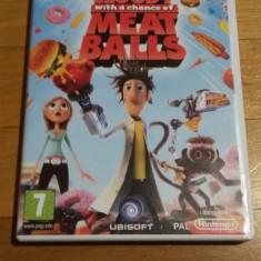 WII Cloudy with a chance of meat balls original PAL / by Wadder, Actiune, 3+, Multiplayer, Ubisoft