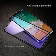 Folie Sticla Securizata iPhone X Acoperire Completa Neagra