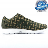 "Originali  100%  ADIDAS ZX FLUX ""Camouflage ""   din germania nr 40;41 1/3, Din imagine"