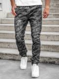 Cumpara ieftin Pantaloni army joggers negri bărbați Bolf RB9489DT