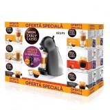 Pachet Promo : Nescafe Dolce Gusto capsule + Aparat Piccolo Antracit