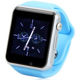 Cumpara ieftin Ceas SmartWatch MediaTek™ A1 - Watch Blue Edition - Telefon microSIM, microSD camera