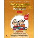1200 de exercitii si probleme de matematica. Clasa I/***, Litera