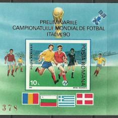 1990 - preCM fotbal, colita ndt neuzata