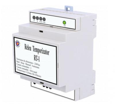 Releu temporizator iluminat cu un canal cod RT-1 foto