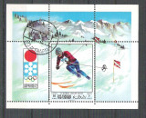Ras Al Khaima 1972 Sport, Olympics, perf. sheet, used AB.061