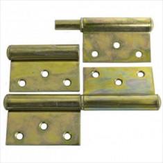 Balama incastrata pentru usa, 80x45x1.5 mm, zincata Yzn, Strend Pro T0018A